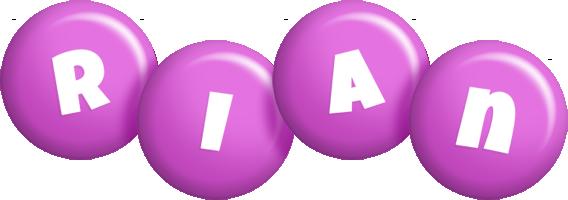 Rian candy-purple logo