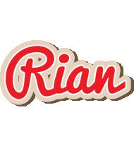 Rian chocolate logo