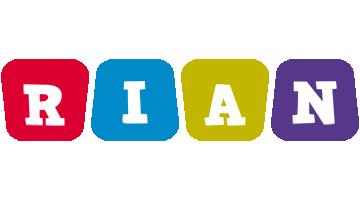 Rian daycare logo