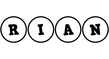 Rian handy logo