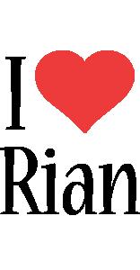 Rian i-love logo