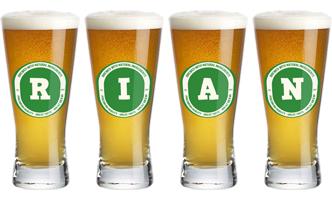 Rian lager logo
