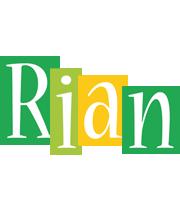 Rian lemonade logo