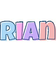 Rian pastel logo