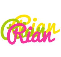 Rian sweets logo