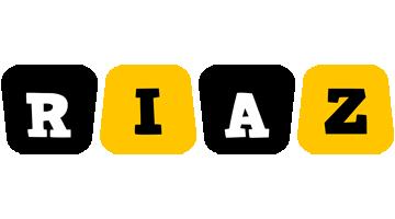 Riaz boots logo