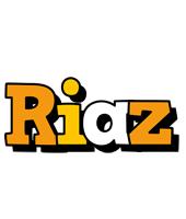Riaz cartoon logo
