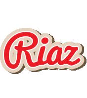 Riaz chocolate logo