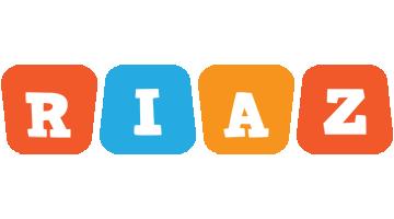 Riaz comics logo