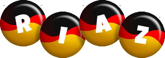 Riaz german logo