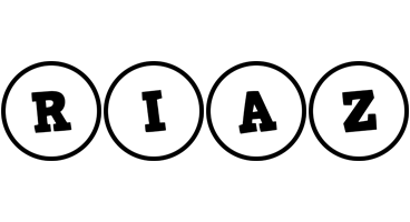 Riaz handy logo