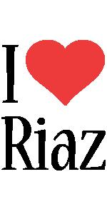 Riaz i-love logo