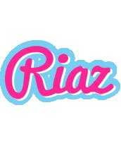 Riaz popstar logo