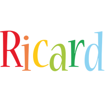 Ricard birthday logo