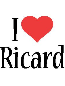 Ricard i-love logo