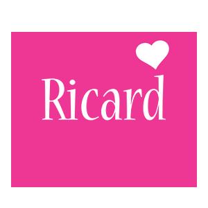 Ricard love-heart logo