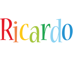 Ricardo birthday logo
