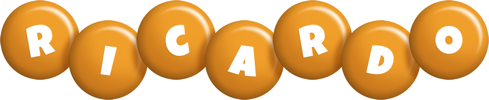 Ricardo candy-orange logo