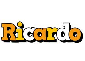 Ricardo cartoon logo