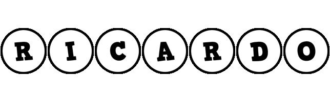Ricardo handy logo