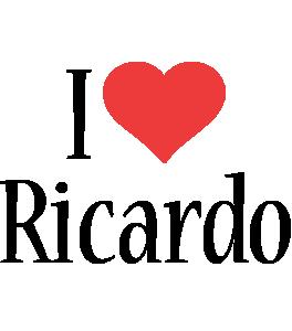 Ricardo i-love logo