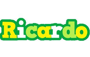 Ricardo soccer logo