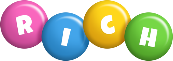 Rich candy logo