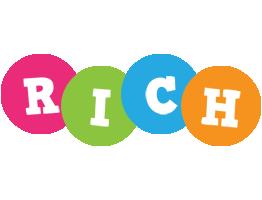 Rich friends logo