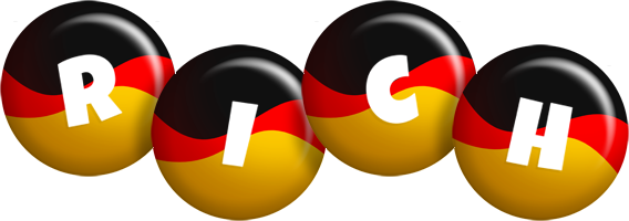 Rich german logo