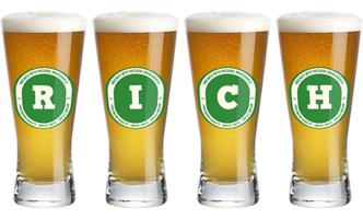 Rich lager logo