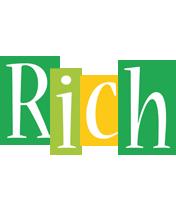 Rich lemonade logo