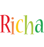 Richa birthday logo