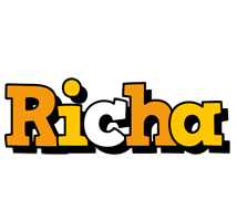 Richa cartoon logo