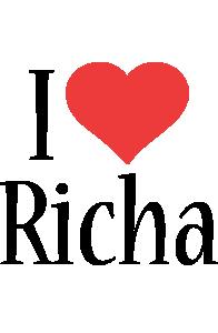 Richa i-love logo