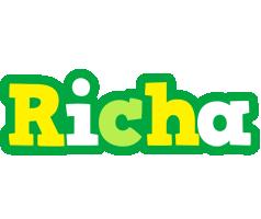Richa soccer logo