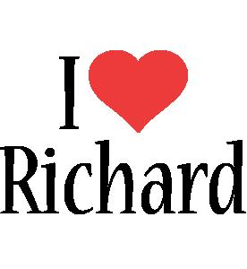 Richard i-love logo