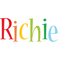 Richie birthday logo