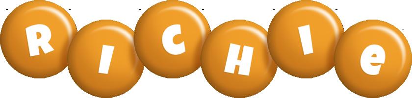 Richie candy-orange logo