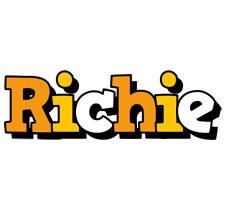 Richie cartoon logo