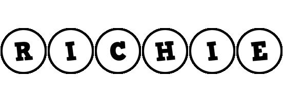 Richie handy logo