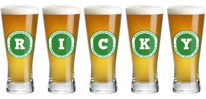 Ricky lager logo