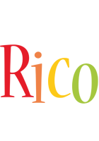 Rico birthday logo