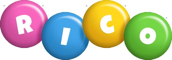 Rico candy logo