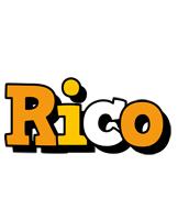 Rico cartoon logo