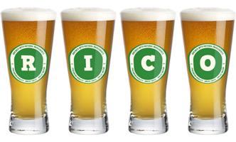 Rico lager logo
