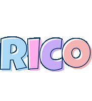 Rico pastel logo