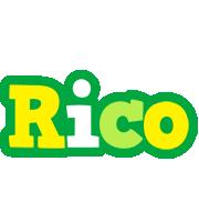 Rico soccer logo