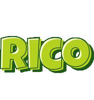Rico summer logo