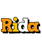 Rida cartoon logo