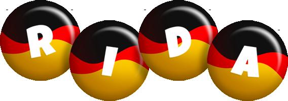 Rida german logo